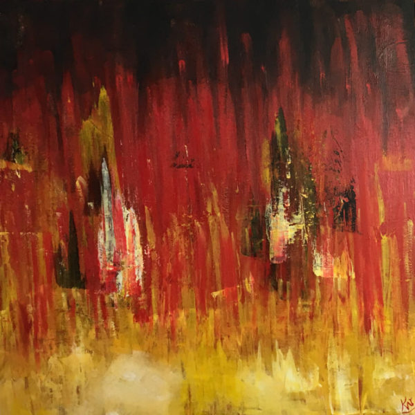 Abstract Painting - Wildfire