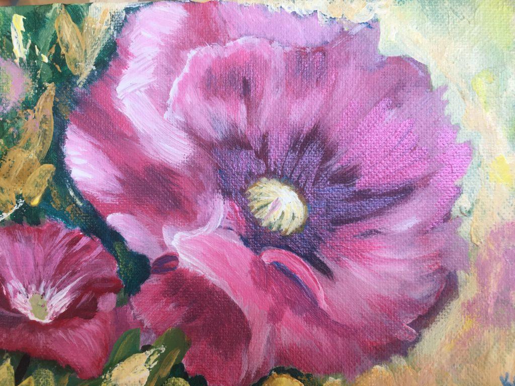 Buy Original Flower Painting Artwork For Sale Kraneil Fine Art